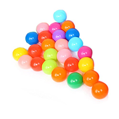 Domybest 25pcs Palline Colorate Morbide di Plastica Giocattoli della Piscina per i Bambini
