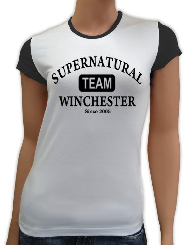 touchlines-womens-raglan-sleeve-t-shirt-supernatural-team-winchester-multi-coloured-white-black-size