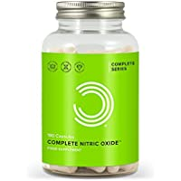 BULK POWDERS Complete Nitric Oxide - Pack of 180 Capsules
