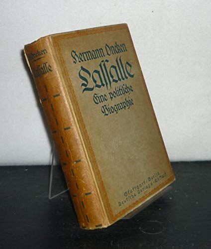 Lasalle - Eine politische Biographie.