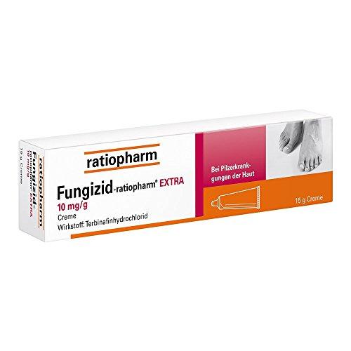 Fungizid-ratiopharm extra Creme, 15 g