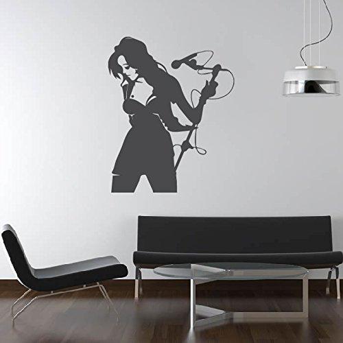 Weibliche-Sngerin-Mikrofon-Musiker-Band-Logos-Wandsticker-Musik-Kunstabziehbilder-verfgbar-in-5-Gren-und-25-Farben-X-Gro-Schwarz