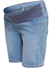 Esprit Maternity Short Denim Utb Pantalones Cortos premamá para Mujer