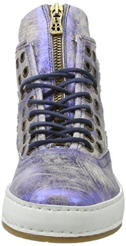A.S.98 Damen Mabel Sneaker Blau (MIRTILLO/MIRTILLO/Bianco)