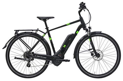 Herren E-Bike 28 Zoll - Pegasus Solero E8 Sport CX - Bosch Performance Line CX Mittelmotor, Akku 500Wh, Shimano Schaltung, schwarz