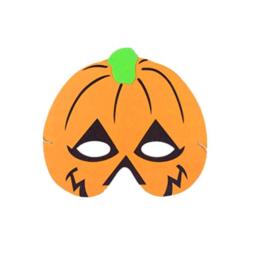 Y56 Halloween Maske Horror Eva-Schaum-Karikatur-Masken-Cosplay Kostüm-Partei-Maske begünstigt Dress-up Kostüm für Partei (A)