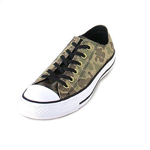 Converse Chuck Taylor All Star Lurex Camo Ox Khaki/Black/Gold, Größen:36