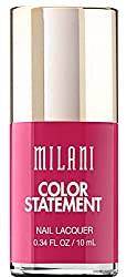 Milani Color Statement Nail Lacquer, 09 Hot Pink Rage, 0.34 fl. oz. by Milani