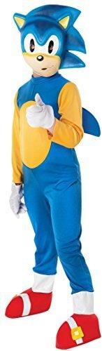 Jungen Sega Sonic the Hedgehog Animal Computerspiel Spieler Blau Kostüm Kleid Outfit 3-8 jahre - Blau, 3-4 (Kind Sonic Kostüme The Hedgehog Sonic)