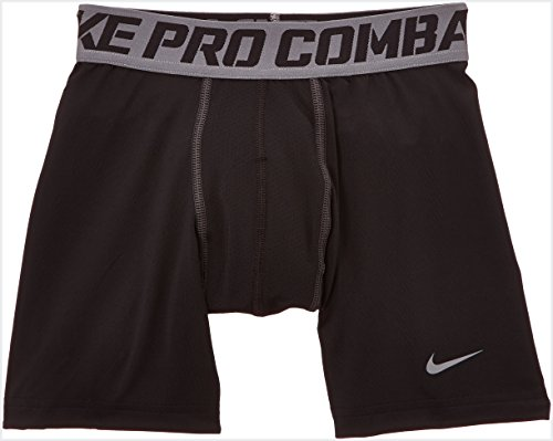 Nike Jungen Shorts Pro Core Compression, Black/Cool Grey, XL, 522804-010