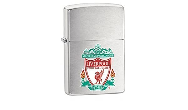 Liverpool Engraved Lighter with Gift Box FREE ENGRAVING