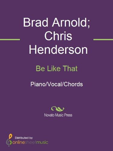 Be Like That Ebook 3 Doors Down Brad Arnold Chris Henderson