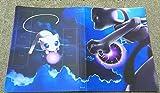 Dorara Pokemon Karten Halter Binder, Pokemon Karten GX EX Trainer Alben, Sammelkartenalben, 14 Seiten Kann bis zu 112 Karten aufnehmen (Mewtwo VS Mew)