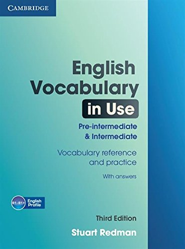 English Vocabulary in Use : Pre-Intermediate and Intermediate
