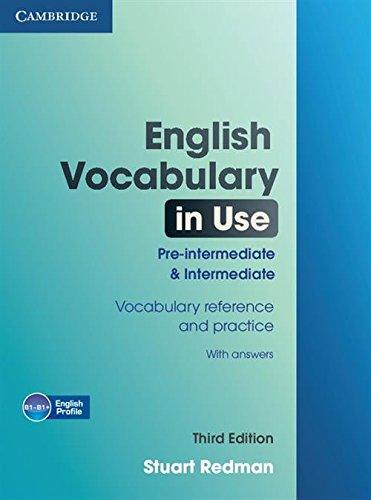 English Vocabulary in Use : Pre-Intermediate and I..