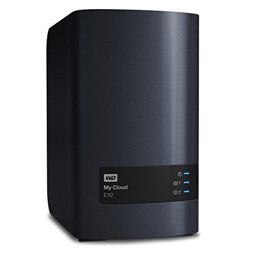 Western Digital 12TB My Cloud EX2 NAS Festplatte - LAN - WDBVKW0120JCH-EESN