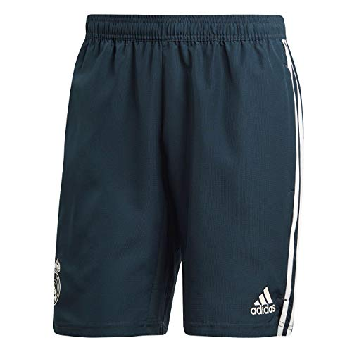 adidas Herren Real Madrid Woven Shorts, tech Onix/Core White, S Mens Tech Support