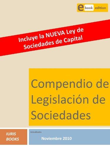Compendio Legislación de Sociedades por Iuris Books
