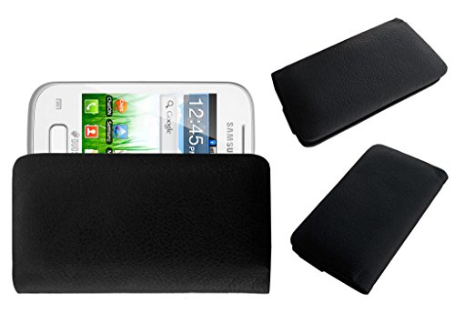 Acm Rich Leather Soft Case For Samsung Galaxy Y Plus S5303 Mobile Handpouch Cover Carry Black  available at amazon for Rs.179
