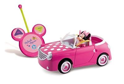 IMC Toys - Coche Rc Minnie preescolar con figura de Minnie articulable (43-181199) de IMC Toys