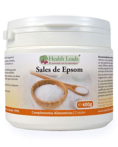 Sales Epsom puros 400g | Calidad alimentaria | Sulfato