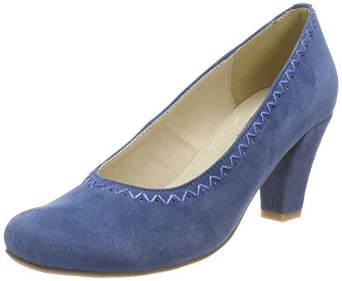 HIRSCHKOGEL by Andrea Conti Damen 3003415 Pumps, Blau (Jeans), 39 EU
