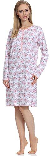 Merry Style Premamá Camisón Lactancia Maternidad Vestidos de Dormir Ropa de Cama Interior Lencería Mujer 1199 (Rosa-2A, L)