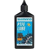 SHIMANO LUBRICANTE para SECO PTFE 100ML Aceites Ciclismo, Adultos Unisex, Multicolor(Multicolor)