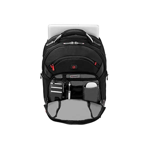 Wenger 600627 Gigabyte – Mochila con forro anti-arañazos (15″) color negro