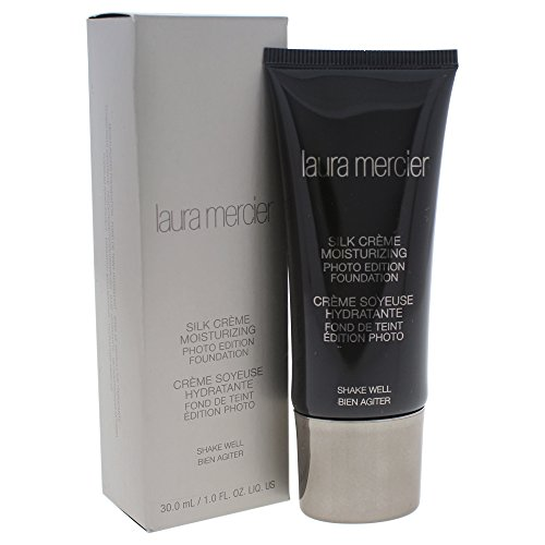 Laura Mercier CLM09203 Silk Crème Moisturizing Photo Edition Foundation, 1er Pack (1 x 30 ml) -