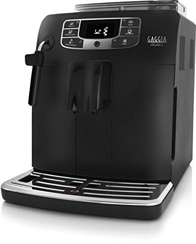 Gaggia Macchina da caffè Automatica RI8260/01 Velasca Blk, 600 W, 2 Cups, 1 Decibel, Black