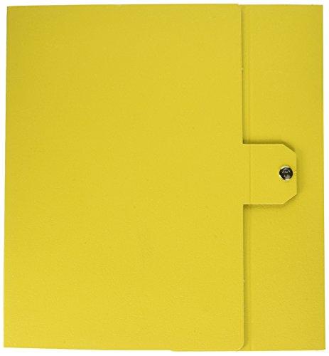 Esselte cartella a scatola per l'archiviazione di documenti a lungo termine, a4, 8 cm, giallo
