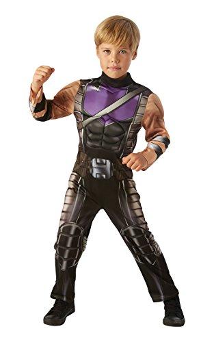 Hawkeye - Marvel Avengers - Kinder Kostüm - Groß - 128cm - Alter 7-8