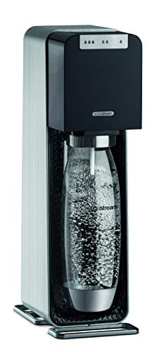 SodaStream POWER Elektronischer Wassersprudler, macht vollautomatisch aus Leitungswasser Sprudelwasser – ohne schleppen! mit 1 Zylinder und 1L PET Flasche (BPA frei); Farbe: schwarz - 8