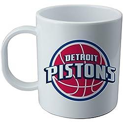 Taza y pegatina de Detroit Pistons - NBA