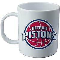 Detroit Pistons - NBA Becher und Auffkleber