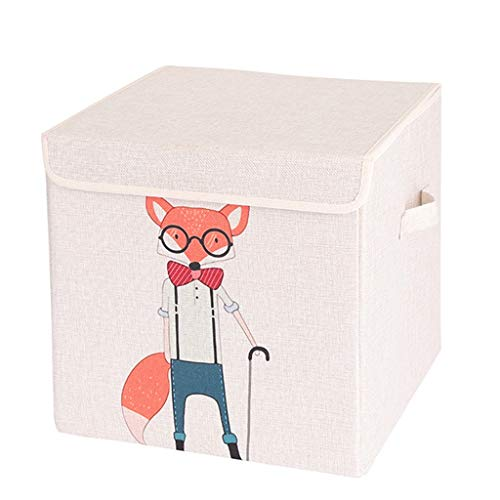 Unbekannt Aufbewahrungsboxen & Truhen Auto Kofferraum Aufbewahrungsbox kreative Cartoon Auto Aufbewahrungsbox Multifunktionsfach niedlichen Auto Faltschachtel (Color : 0.7kg, Size : 34 * 34 * 34cm)