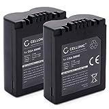 CELLONIC 2X Batería Compatible con Leica V-Lux 1 Panasonic Lumix DMC-FZ8 DMC-FZ7 DMC-FZ18 DMC-FZ28 DMC-FZ30 DMC-FZ35 DMC-FZ38 DMC-FZ50, CGR-S006e CGA-S006a DMW-BMA7 BP-DC5 Pila Repuesto sustitución