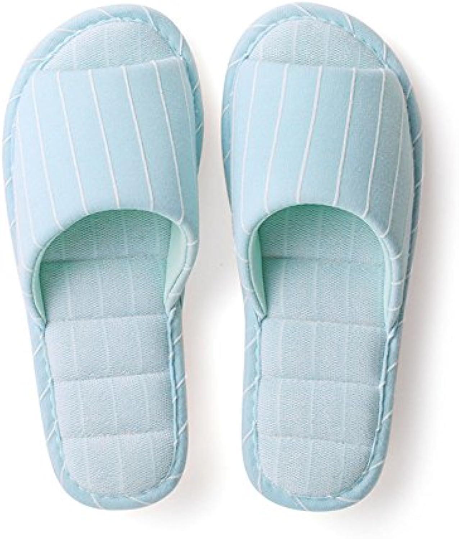 ZHIRONG Pantuflas modernas cómodas Antideslizante simple Parte inferior gruesa de la habitación Pareja expuesta...