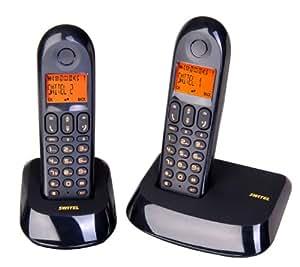 Switel DE 1902 Duo Téléphone sans fil DECT Combiné Supplémentaire