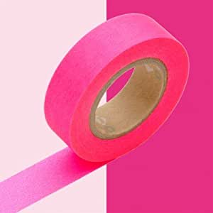 Mark's Inc - Masking Tape Basic Rose Fluo