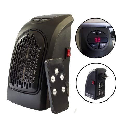 GLJY Calentador Portátil, Calentador De Espacio Personal Enchufable Ventilador De Aire Caliente...