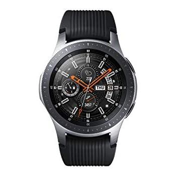 Samsung Galaxy Watch Smartwatch Android, Bluetooth, Fitness Tracker e GPS, Silver, 46 mm [Versione Italiana]