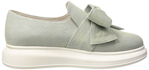 Jeffrey Campbell Damen Britny Suede Sneakers Blau (Light Blue)