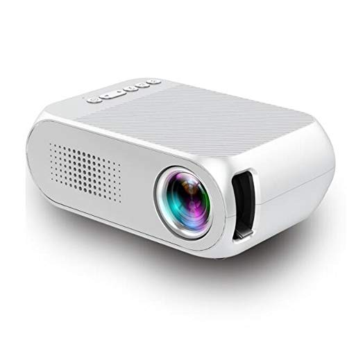 YRYH Videoprojektor LED 80 Zoll tragbare Anzeige Multimedia /30000 Stunden HD 1080 P HDMI TF AV USB Laptop TV Box Telefon/Heimkino Unterhaltung No Noise Version Projektor,White - Big-screen-sony-smart-tv