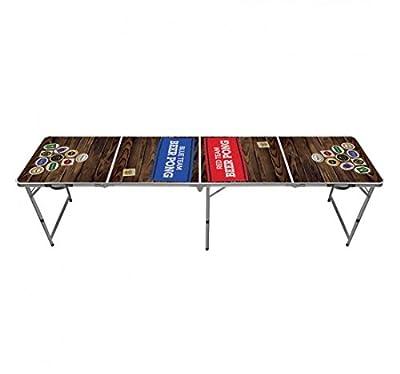 Table de Beer Pong Team Red & Blue
