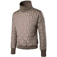 TWBB Pulover Rollkragen Warme Mantel Lange Ärmel Outwear Tops Coat Sweatshirt
