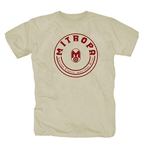 shirtmachine Mitropa T-Shirt, Natur, Large