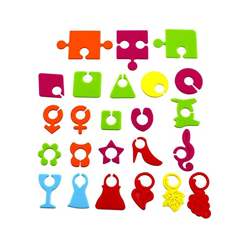 Party Diy Decorations - 24pcs Silicone Wine Cup Glass Label Party Barware Bottle Logo Recognizer Glasses Marker Bar - Decorations Party Party Decorations Wine Marker Glass Label Glasses (Wine Cup Markers)