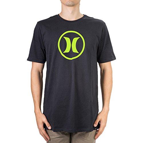 Hurley T-Shirts - Hurley Circle Icon Dri-Fit T-Shirt - Black (T-shirt Hurley Icon)